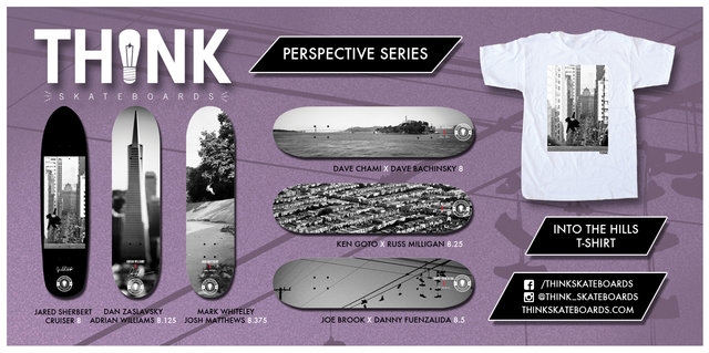 Think Skateboard New Series